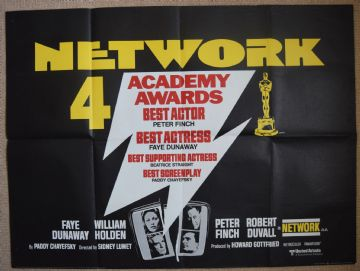 Network Vintage Movie Poster - UK Quad